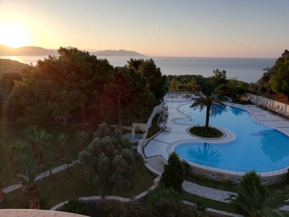 View de la hotel